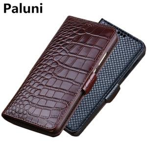 Genuine leather magnetic buckle wallet phone case card slot for UMIDIGI BISON GT/UMIDIGI BISON/UMIDIGI A9 Pro wallet phone bag