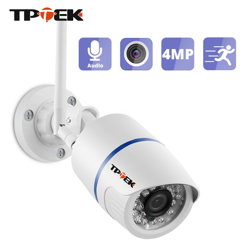 4MP 1080P IP كاميرا في الهواء الطلق واي فاي كاميرا مراقبة للمنزل مراقبة لاسلكية واي فاي رصاصة مقاوم للماء IP Onvif HD كاميرا كامارا كام