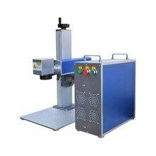 Machine portative de marquage de laser de fibre de 10W 20W 30W 50W mini pour la gravure mentale