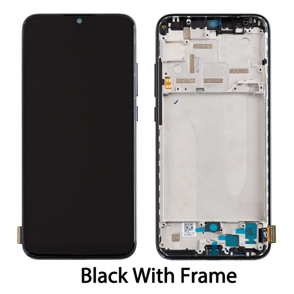 Factory Super AMOLED Display For Xiaomi Mi A3 LCD Touch Screen Digitizer Assembly With Frame Lcd For Xiaomi Mi CC9E Display enlarge