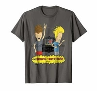 clothing mtv beavis and butthead television rock graphic t shirt 7768