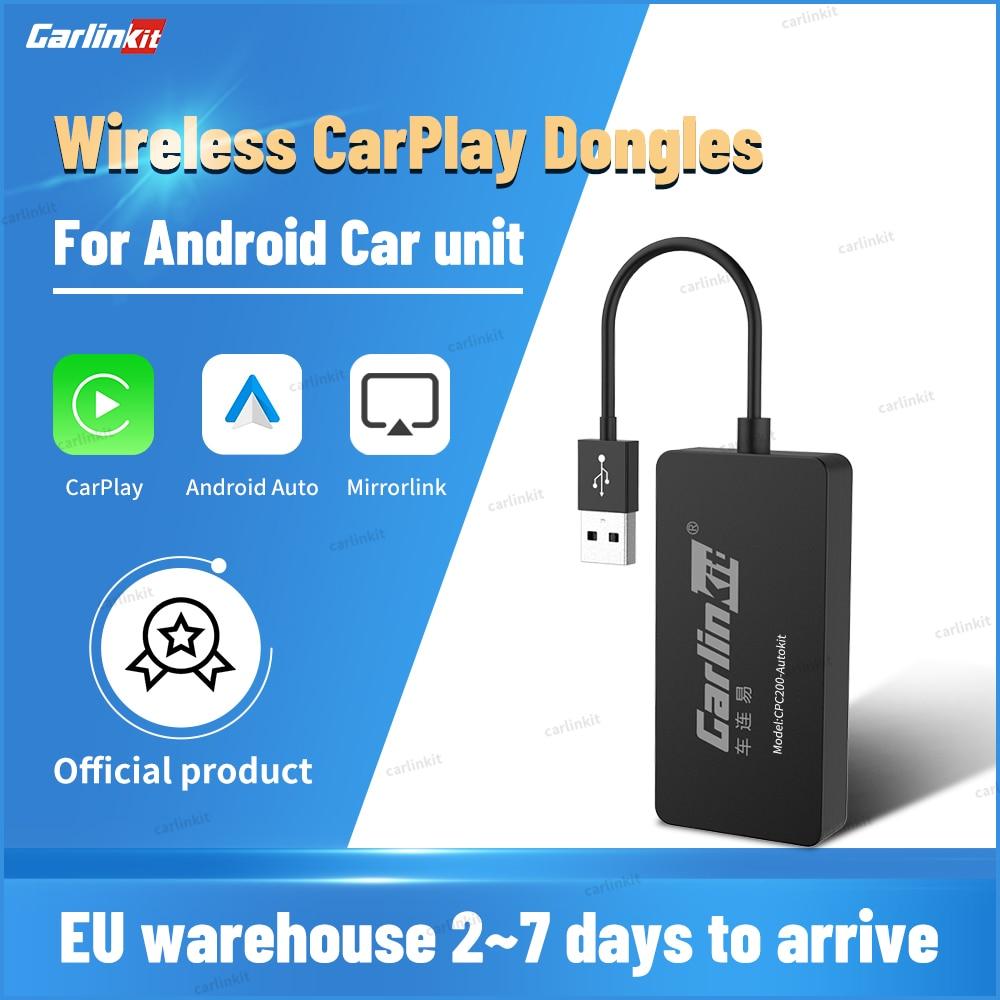 Carlinkit USB اللاسلكية أبل CarPlay دونغل و أندرويد السيارات لتعديل أندرويد خدمات السيارات السيارات بيع آيفون Autokit مرآة عدة
