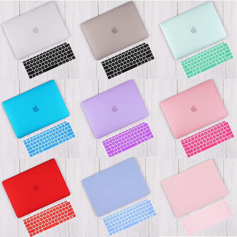 Redlai матовый и Кристальный жесткий чехол и крышка клавиатуры для 2019 Macbook Pro 13v16 TouchBar A2141 A2159 Air 13 A1932 2020 A2179