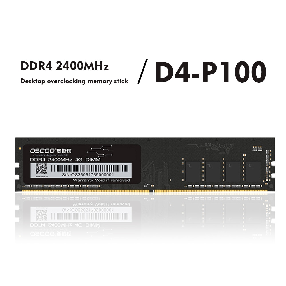 DDR4 جهاز كمبيوتر شخصي ذاكرة عشوائية بار 4GB/8GB/16GB 2400Mhz سطح المكتب DDR4 اللوحة الأم ميموريا 288Pin 1.2 فولت طويلة DIMM ذاكرة عشوائيّة للحاسوب المكتبي