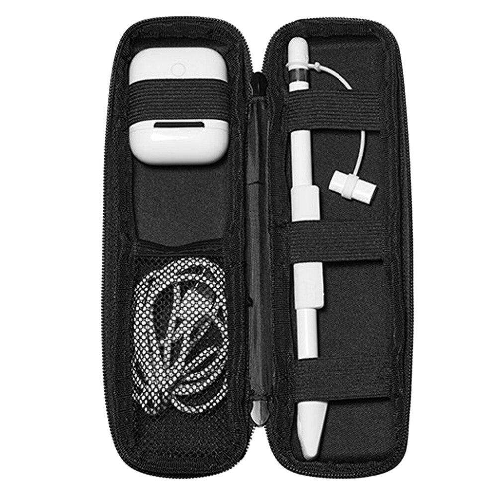 Bolsa protectora de almacenamiento Besegad estuche funda bolsa soporte para lápiz Apple ipencil Airpods Air Pods ipad Pro 9,7 10,5 Gadgets