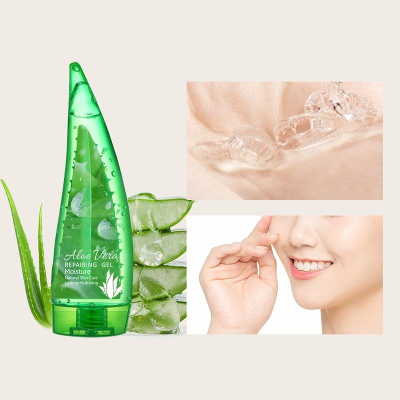 160g  Natural Aloe Vera Gel Acne Replenishing Moisturizing Repair acne scar removal cream  aloe vera gel  skin care недорого