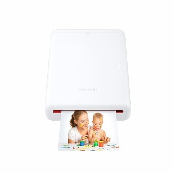 Huawei Photo Printer CV80 Portable Pocket Polaroid Mini Phone Bluetooth No Ink 3Inch global version