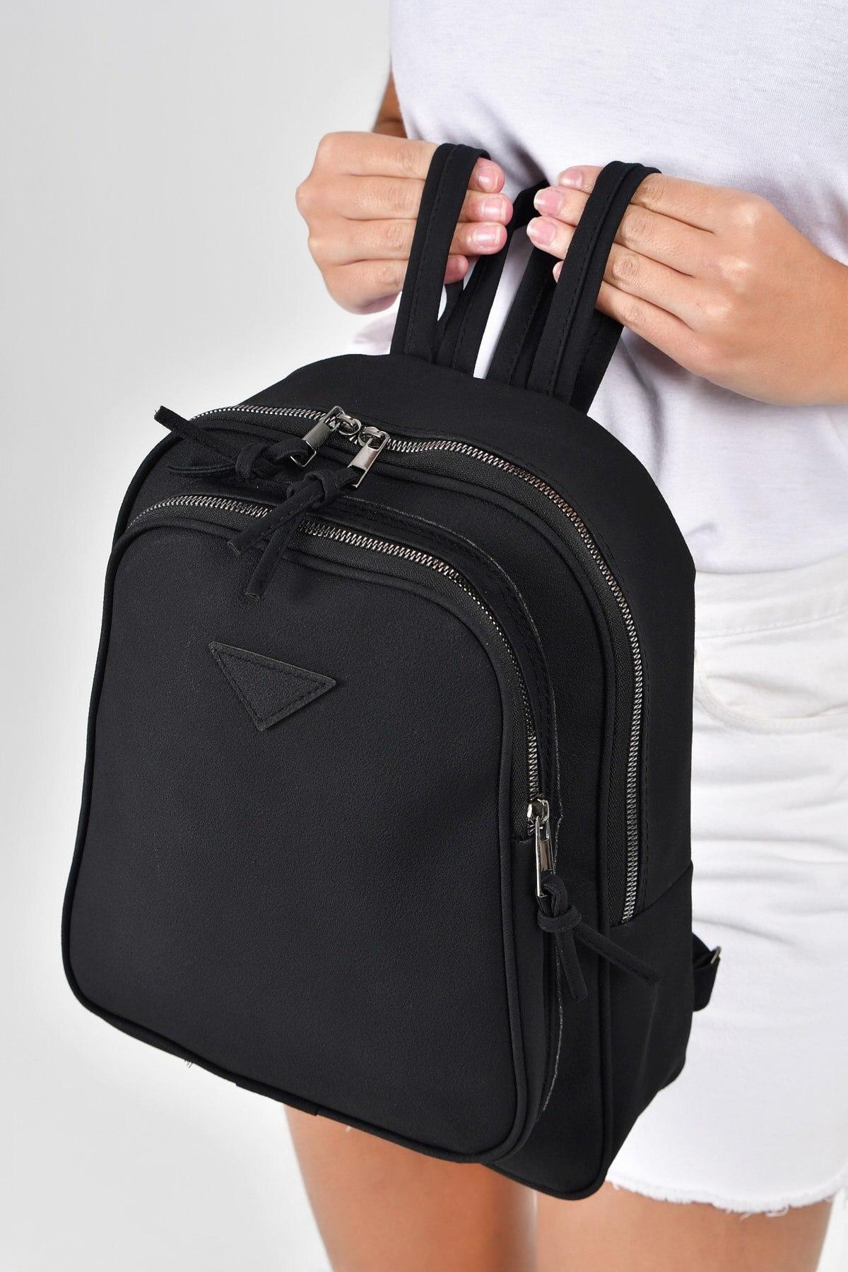 Замшевый рюкзак с двумя отделениями, женский кожаный рюкзак, высококачественный Женский винтажный рюкзак для девочек, школьная сумка для п...