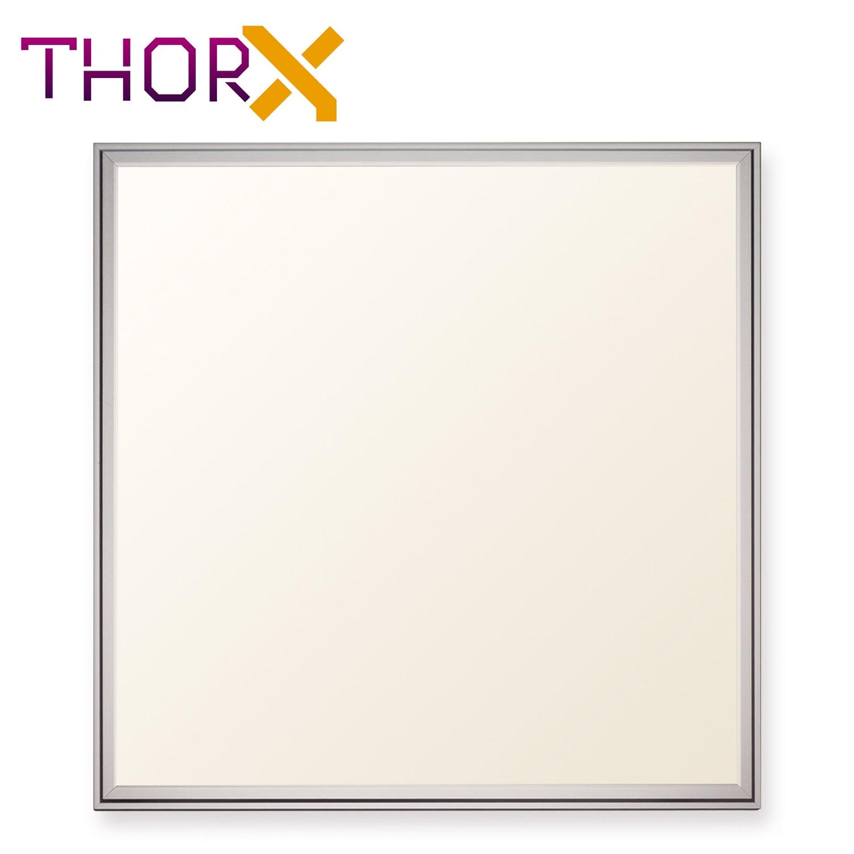 ThorX 60x60 cm Ultraslim Panel LED 36 W 3000 Lm led 100-240V Fría/caliente/neutral Japón Corea envío rápido