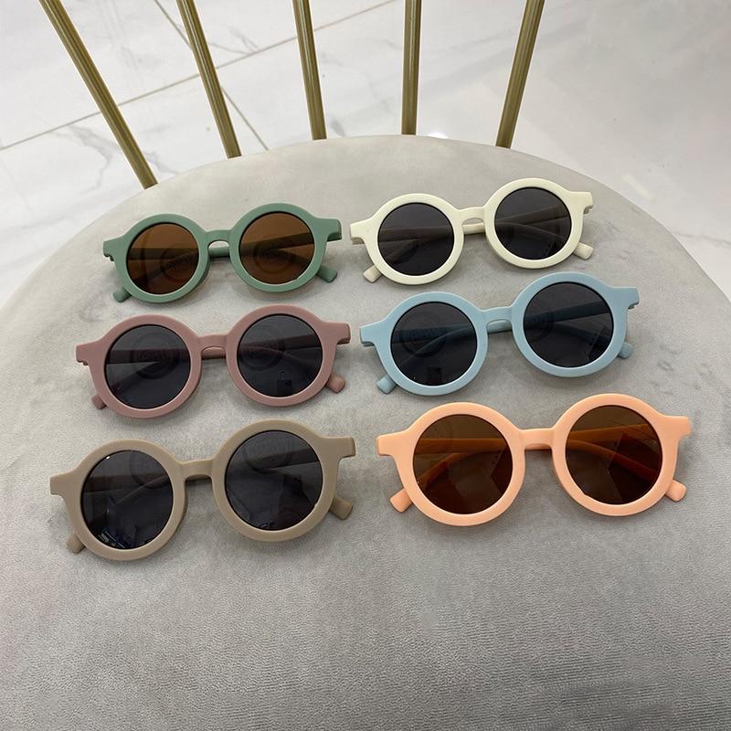 Kids Children Accessories Boys Girls Beach Holiday Sunglasses Fashionable Cool Glasses