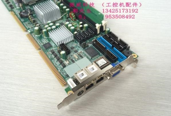 100% high quality test Industrial computer motherboard NUPRO-851DV dual network port with 3.4CPU 1G memory physical map