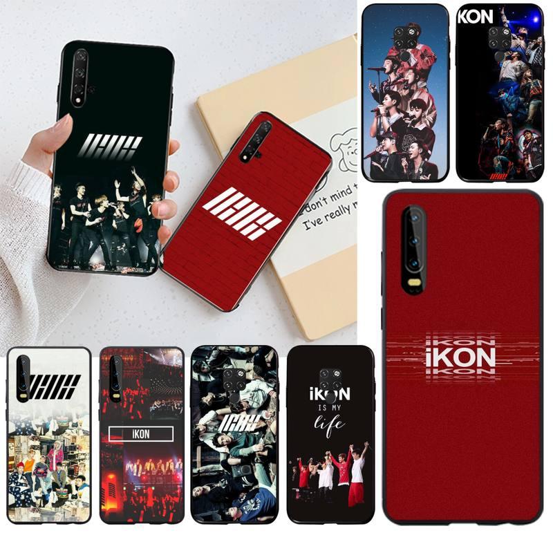 Penghuwan ikon kpop bobby b. i. Luxo exclusivo design capa de telefone para huawei p30 p20 lite mate 20 pro lite p inteligente 2019 prime