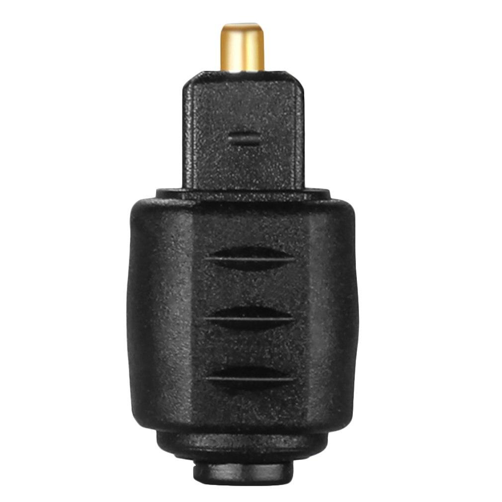 Adaptador de Audio óptico, enchufe hembra de 3,5mm, conector hembra a Toslink...