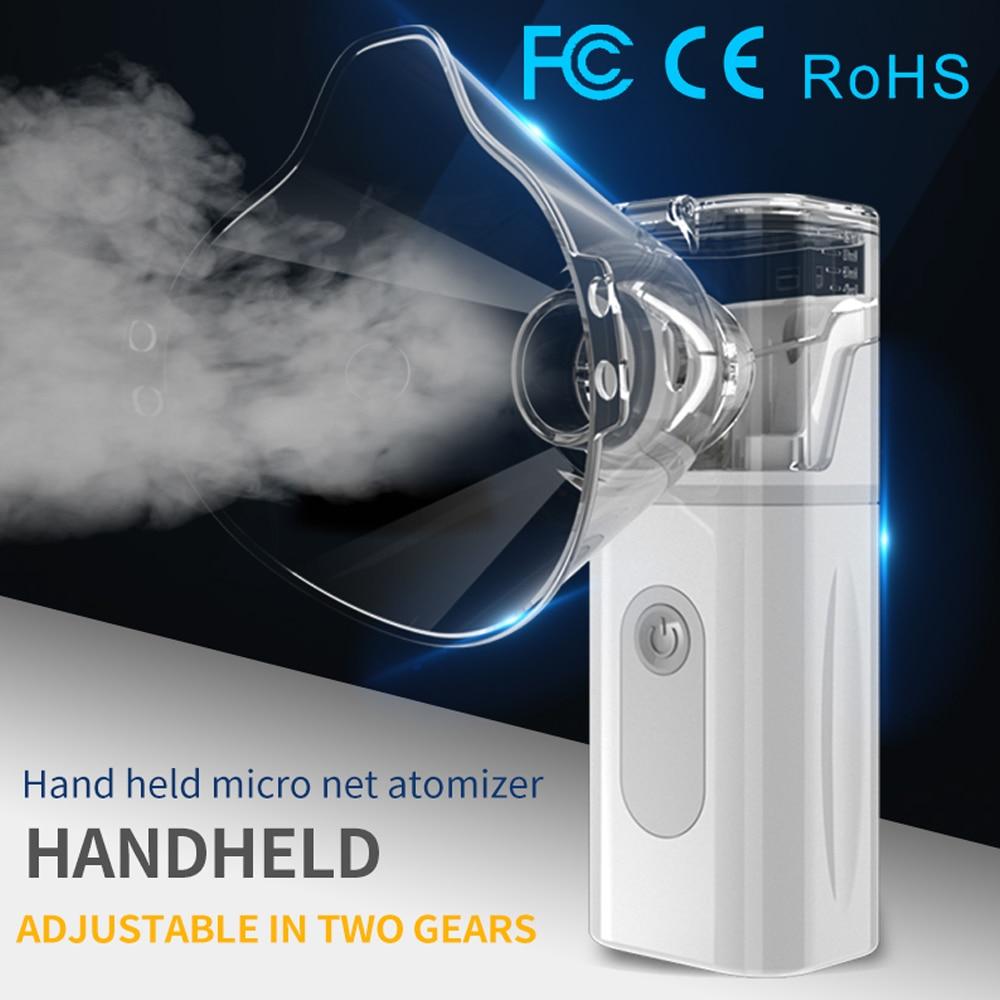 2020 Portable Mini Handheld nebulizer Adult children Health Care autoclean kid inhaler nebulizer nul