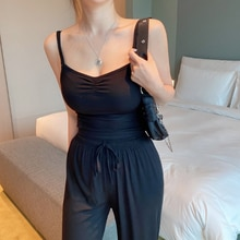 Camisole Women's Summer Backless Large Size Cotton Thin Sleeveless Sexy Top Women's Bottoming Shirt