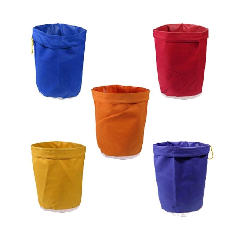 5Pcs 1 Waterproof Gallon Filter Bag Bubble Bag Garden Grow Bag Hash Herbal Ice Essence Extractor Kit Extraction Bag