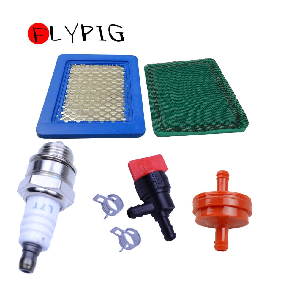 Filtro de ar para b & s 491588 491588 s 5043 119-1909 kit de filtro de combustível