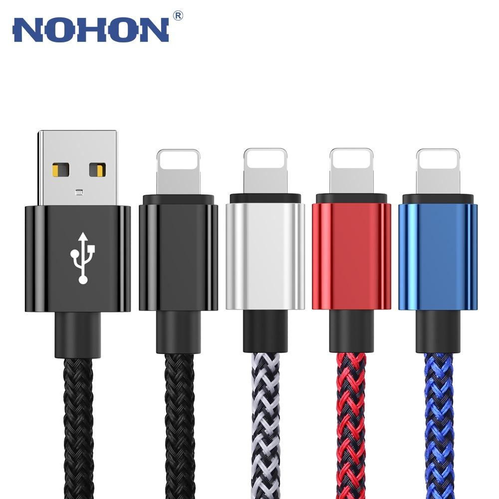 USB дата-кабель для зарядки смартфонов, длинный и короткий кабель для мобильных телефонов, 20 см, 1 м, 2 м, 3 м, для iPhone 6, S, 6S, 7, 8 Plus, X ,XS, 11 Pro, MAX 5, 5S