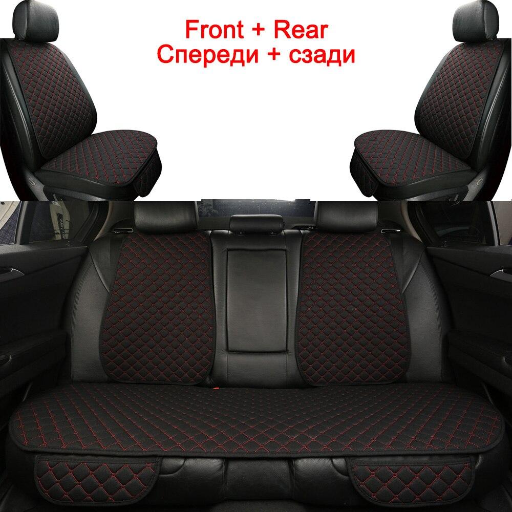 Set de funda de asiento Universal para coche Subaru Forester 2009 Impreza Legacy Outback Tribeca Xv 2018 Protector de asiento de coche