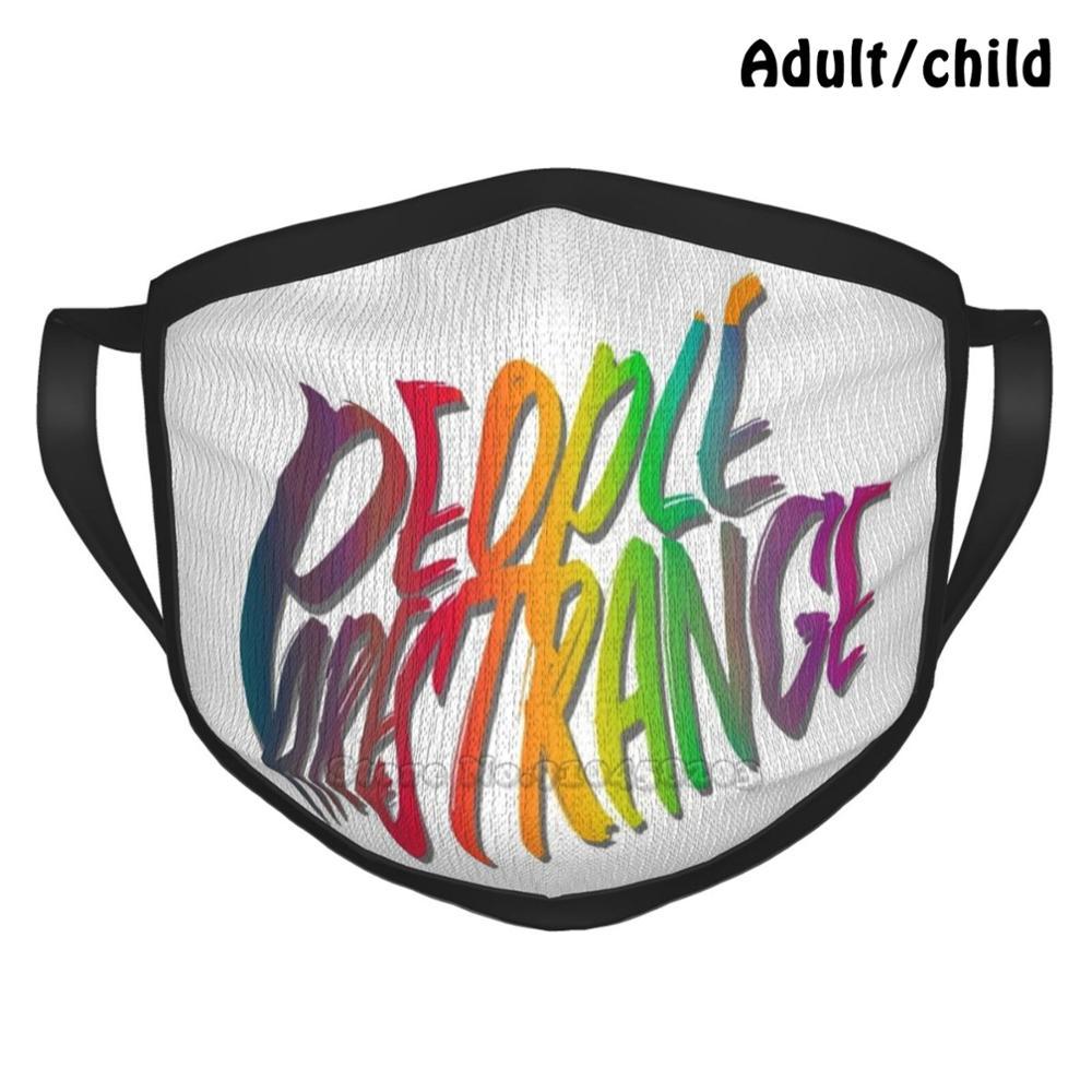 People Are Strange Custom Design Face Mask For Adult Kids Anti Dust People Are Strange Strange Jim Morrison Music People Doors