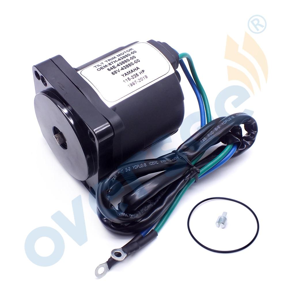 67H-43880 محرك كهربائي لإمالة الحواف محرك ياماها الخارجي 67H-43880 64E-43880 64E-43880-00 115-225 HP
