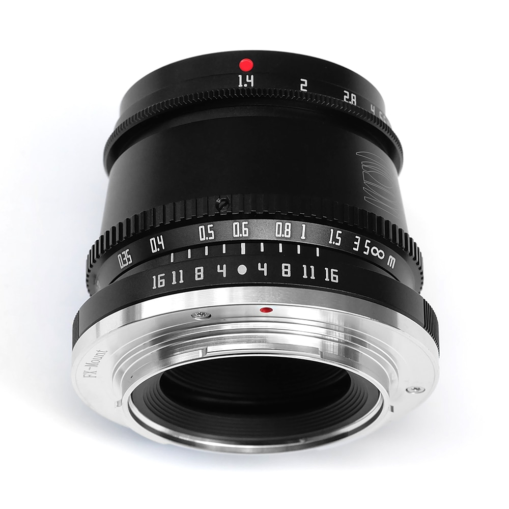 TTArtisan 35mm F1.4 APS-C Manual Focus Camera Lens for SONY E FUJI X Canon M Leica L Nikon Z Panasonic Olympus M43 Black Silver enlarge