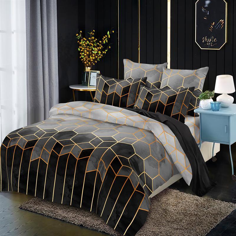 مفرش سرير هندسي ، مفرش سرير ، CV01 # ، 50 قطعة