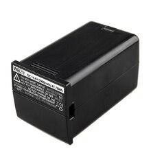 Godox Lithium-Ionen Akku mit Batterie Ladegerät für AD200 AD200Pro AD300Pro Tasche Flash (14,4 V, 2900mAh) WB29