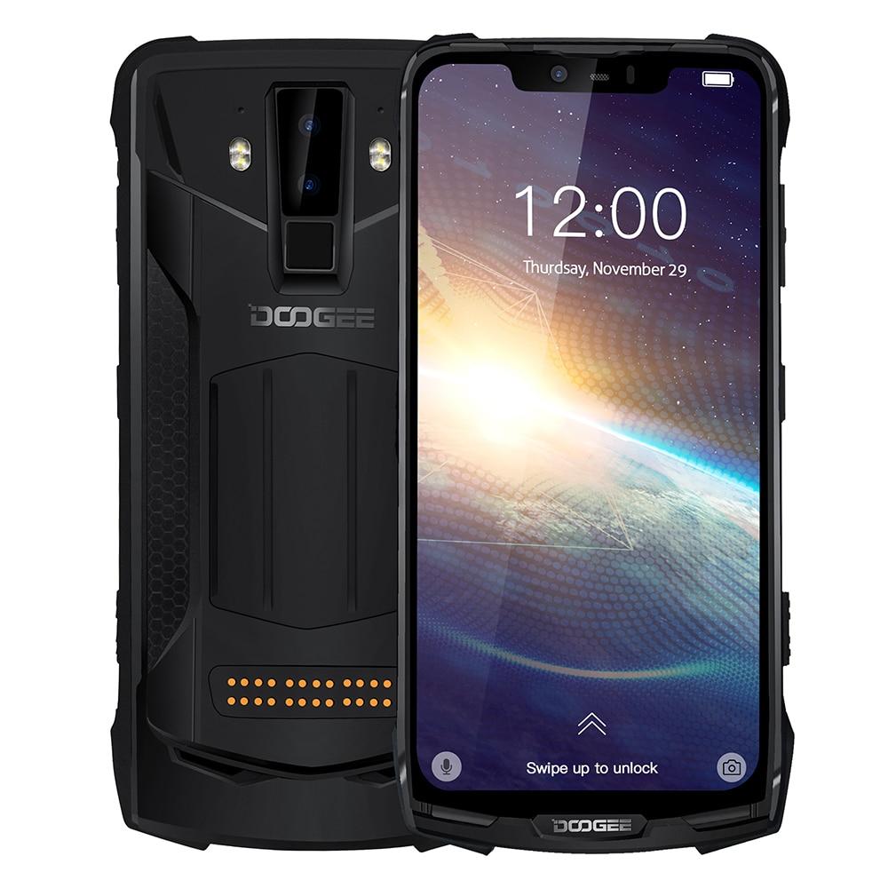 DOOGEE-هاتف ذكي ، S90 Pro ، 6 جيجابايت ، 9.0 جيجابايت ، 128 بوصة ، مقاوم للماء ، متين ، هاتف ذكي ، IP68 ، Android 6.18 ، FHD ، 16 ميجابكسل