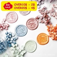 wax seal beads100pcs mentallic color wax stamp sealing perfect for cards envelopes invitations wine package
