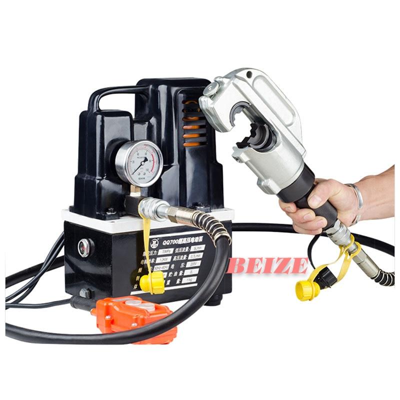 1 مجموعة EP-510H الكهربائية الهيدروليكية العقص كماشة 50 إلى 400mm2 انقسام الهيدروليكية كابل العقص أداة مع مضخة كهربائية