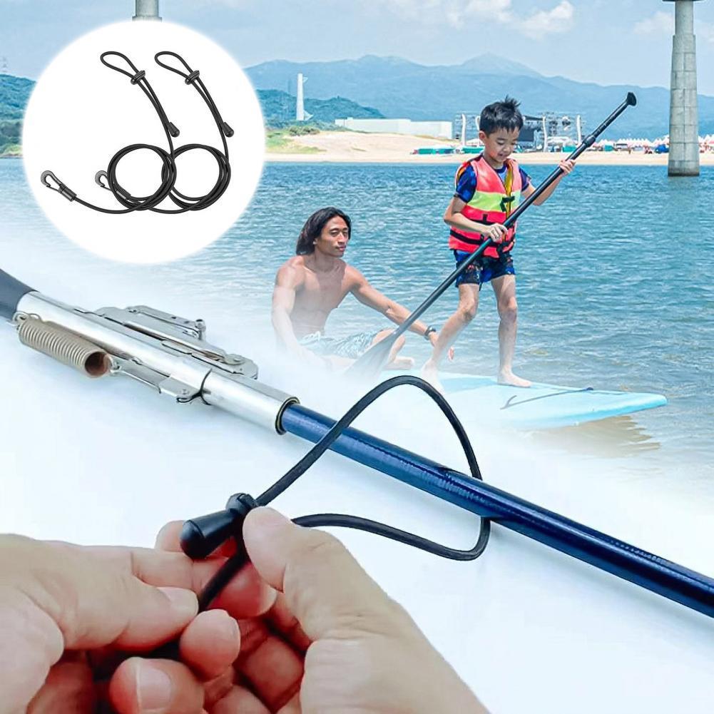 4Pcs1.2m регулируемый весло для байдарки, каное удочку талреп эластичный доски для серфинга функция