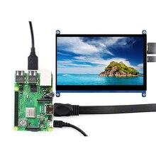 Écran tactile 7 pouces résolution 1024x600 écran LCD HDMI TFT moniteurs compatibles pour framboise Pi UY8