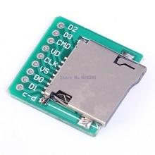 A7-pamięci Micro karta SD TF karta Adapter interfejsu tablica korkowa zmienia moduł 20x20mm 2mm bardzo mała