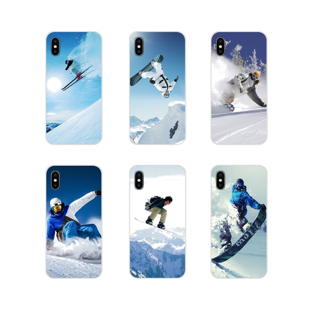 For Samsung A10 A30 A40 A50 A60 A70 Galaxy S2 Note 2 3 Grand Core Prime Snow Or Die Ski Accessories