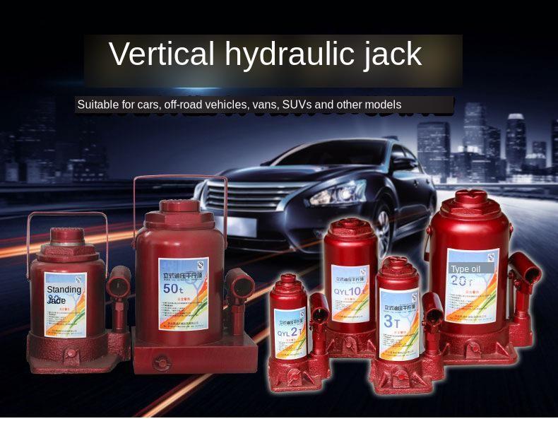 جاك هيدروليكي للسيارة للطرق الوعرة, 3T 5T 8T 10T 12T 16T 20T 32T 50T 100T 200T