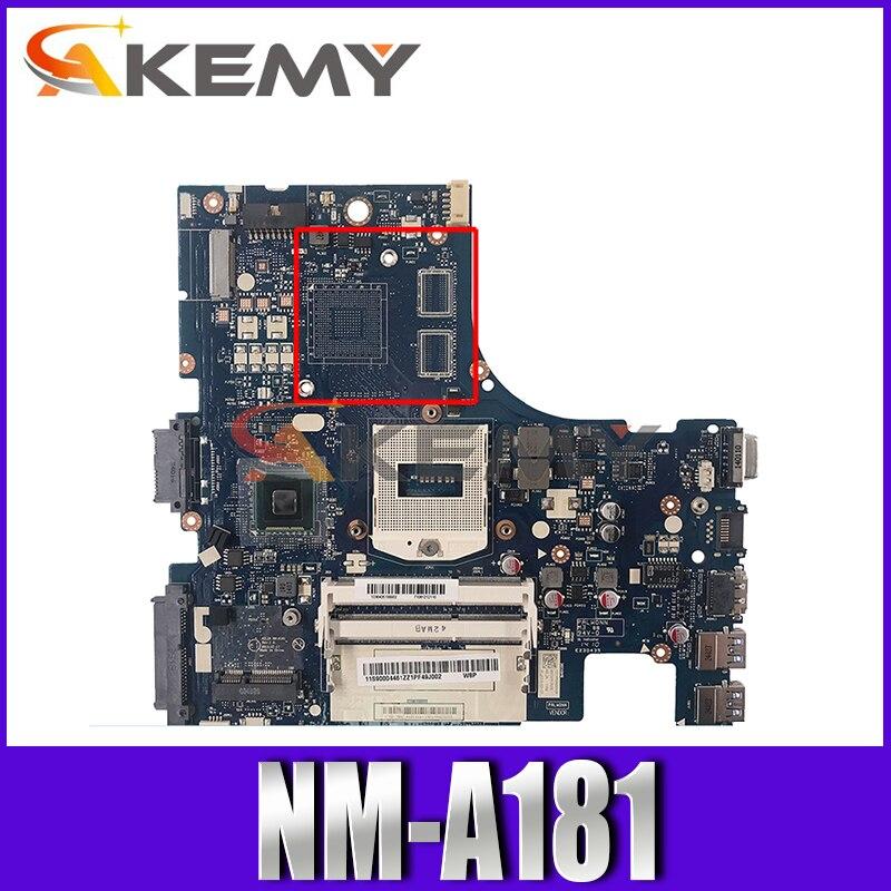 لوحة أم للكمبيوتر المحمول لينوفو IdeaPad Z410 14 بوصة اللوحة الرئيسية 90004457 AILZA NM-A181 SR17E