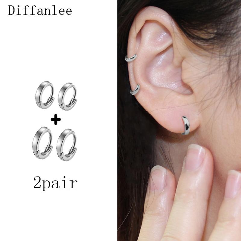 Glatte oberfläche Trend Einfache Mode ultra-kleine Ohr Knochen Ohr Ring Mini Kreis Ohr Schnalle Einfache Wilden Trend Frauen männer Ohr Jewe