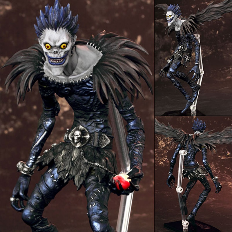 #008 Yagami Light 009 Ryuuku Deathnote Anime Action Figure Movable Transformer Toys Death Note Killer Collectible Figurine Model original death note 2pcs anime collectible figure l lawliet light yagami model figurine action toys statue genuine figures