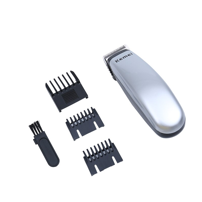 Kemei Portable Electric Hair Clipper Rechargeable Simple Mini Hair Cutting Machine High Quality Hairdressing Tools KM-9612 enlarge