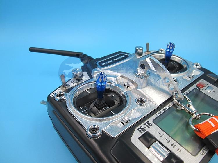 2PCS Remote Controller M3 Thumb Sticker Aluminum Alloy FUTABA 3D Joystick Transmitter Handle Non-slip Sticker for RC UAV Drones enlarge