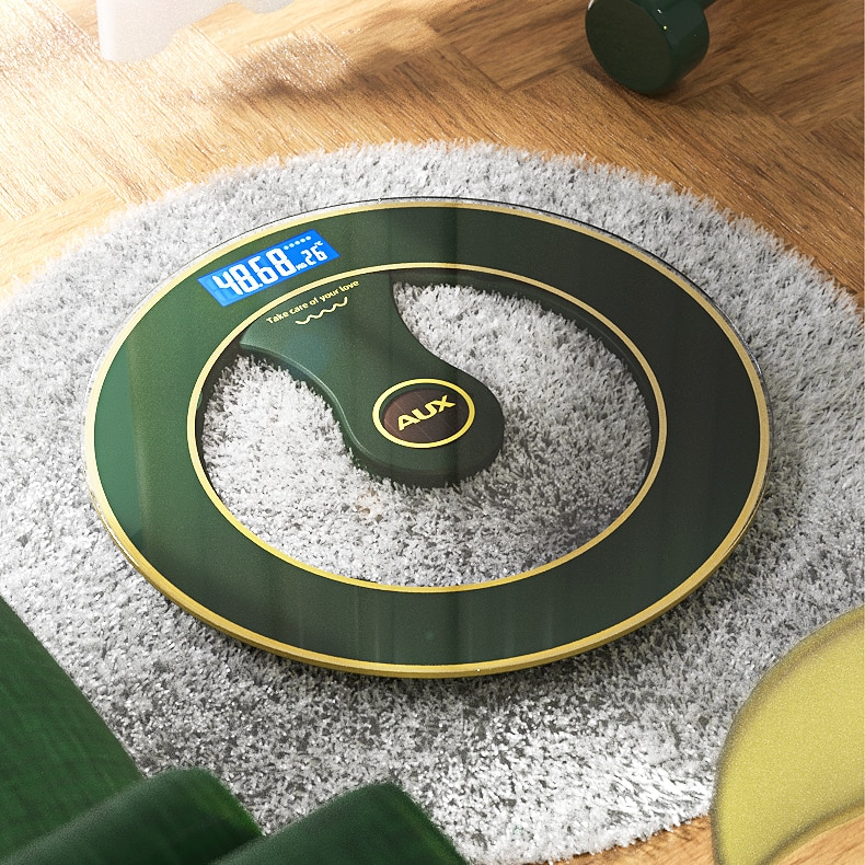 Precision Floor Scale Usb Charging Bathroom Led Body Balance Fat Scale Digital Electronic Pesa Digital Household Items DE50TZC enlarge
