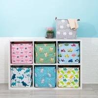 new cube folding storage box clothes storage bins for toys organizers baskets for nursery office closet shelf