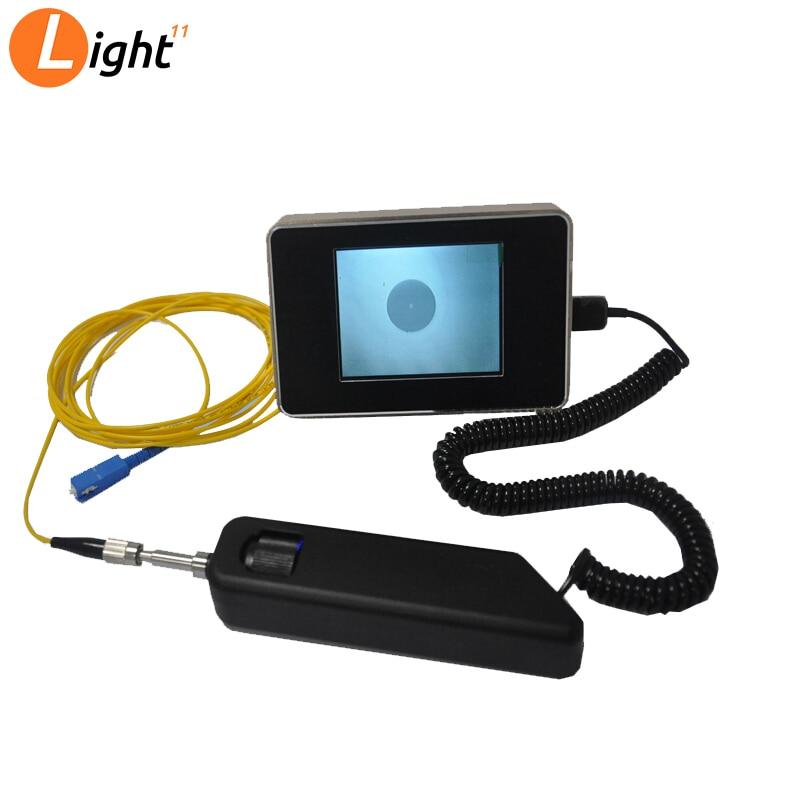 2019 new Handheld JW5009S Fiber Inspection Probe + Microscope, Fiber End Face Inspection Fiber Connector Inspection Tool