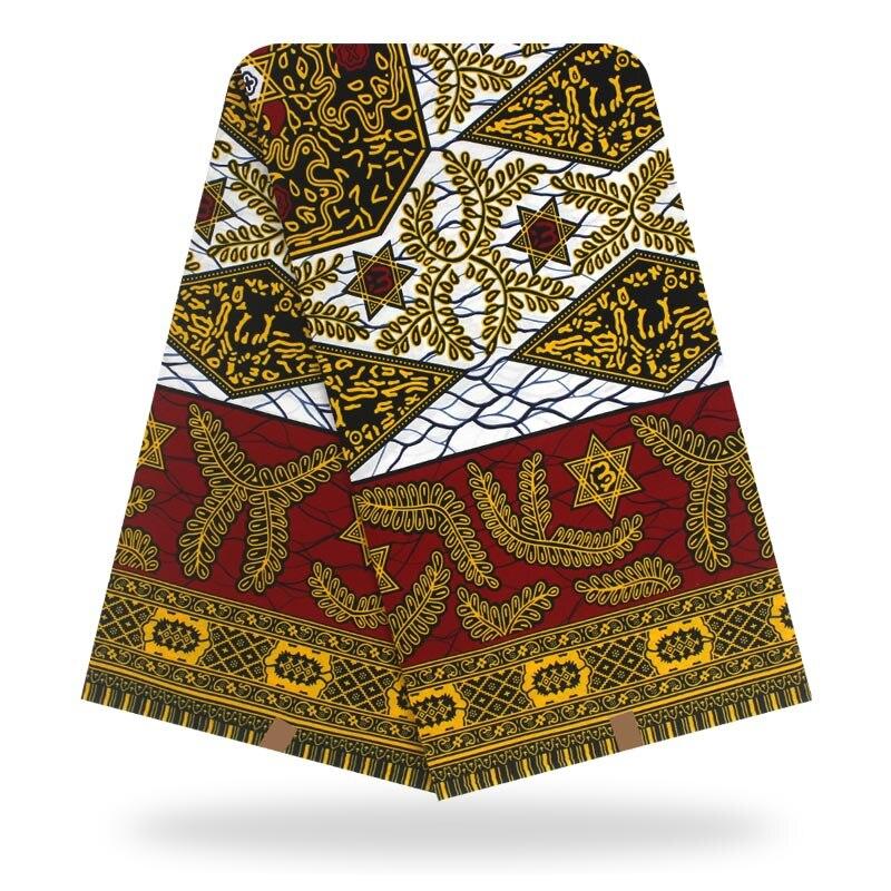 Blesing cera Original de alta calidad 100% tela africana de algodón tela de impresión de cera Africana 2020 lo último de 6 yardas de tela de cera