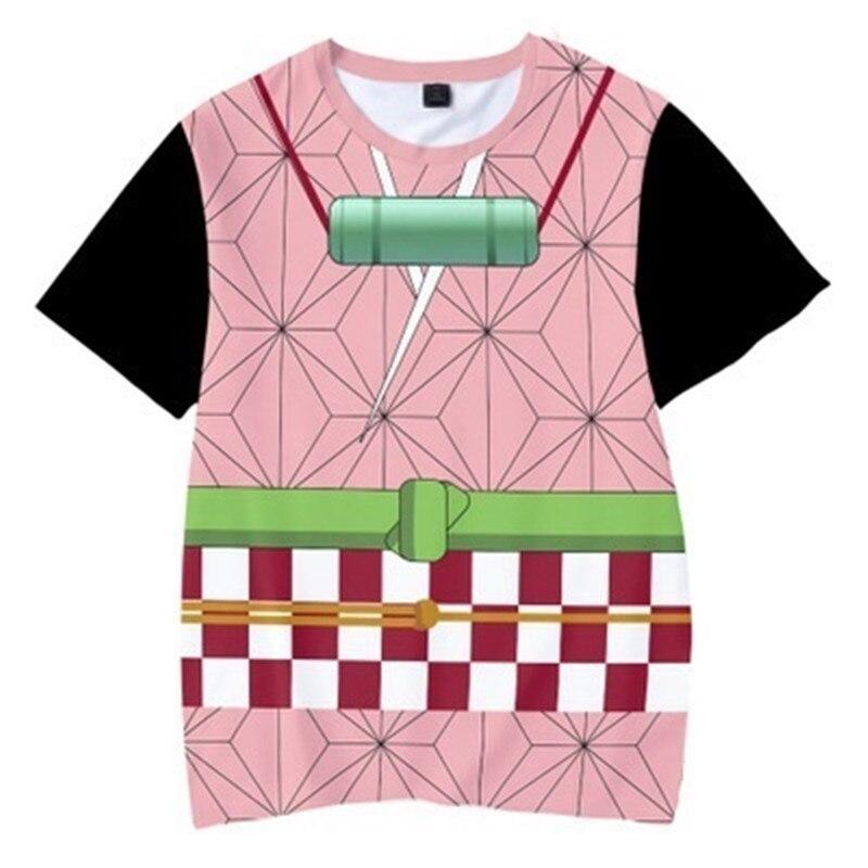 Camiseta 3D de fantasma de 2020, divertidas camisetas a la moda de Hip Hop, demonio asesino, verano estampado para niños, ropa de calle, camisetas