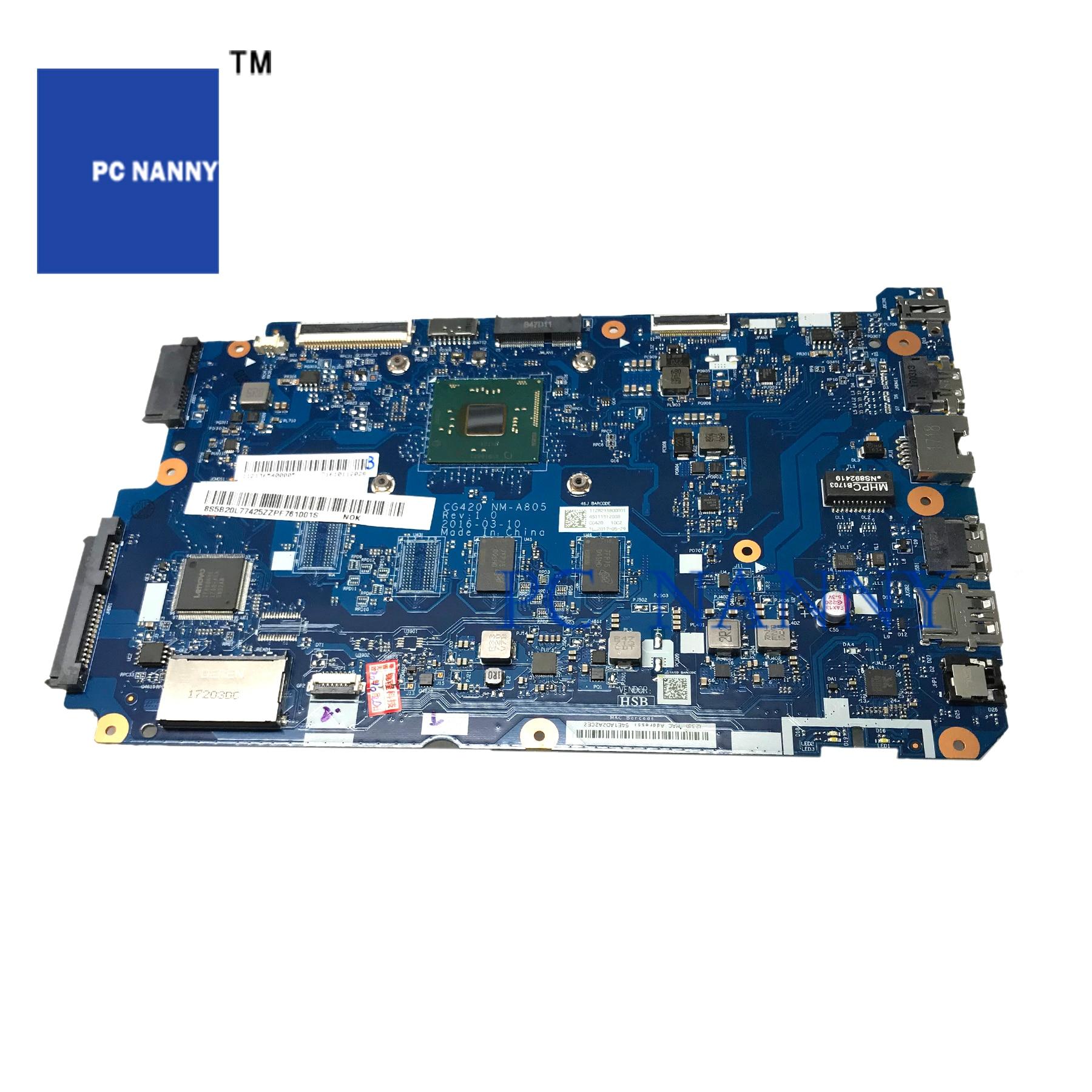 PANANNY CG420 NM-A805 لينوفو IdeaPad 110-14IBR اللوحة المحمول SR2KN N3060 1.6GHz 2G RAM DDR3 اختبار