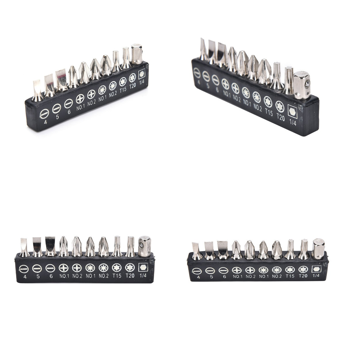 10pcs/Set Multifunctionl Versatile Screwdrivers Electric Alloy Steel Screwdriver Bits For Screwdriver Set