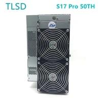 tlsd used bitcoin antminer s17 pro 50th asic btc miner with original psu