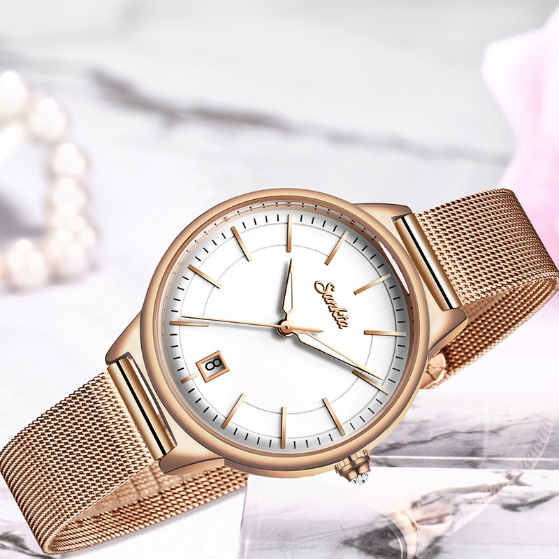 SUNKTA Luxury Brand Women Watches Fashion Casual Dress Diamond Watch Women Gifts Clocks Wrist Watches For Women Relogio Feminino enlarge